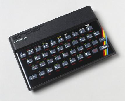 Sinclair ZX Spectrum microcomputer, 1982.