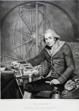 Jese Ramsden, English optician and instrument maker, 1791.