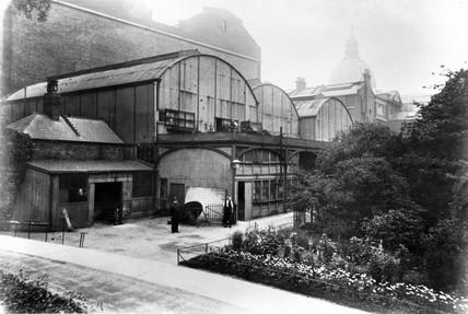 Old Brompton Boilers, South Kensington Museum, London, c 1876.