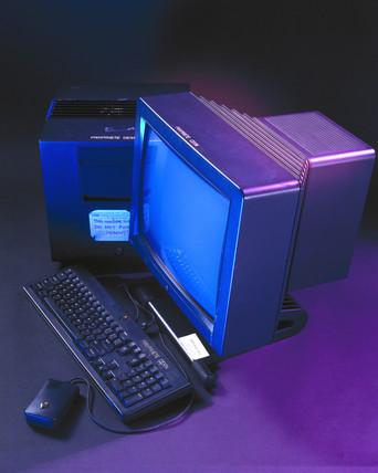 The NeXT computer, c 1990.