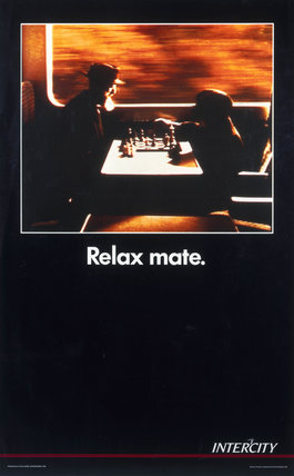 Relax Mate', BR poster, 1992.