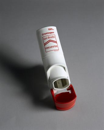 'Easi-Breath' inhaler, 1999.