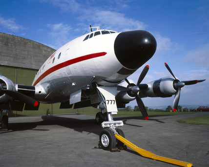Lockheed 749 Constellation, Wroughton, Wiltshire, 1984.