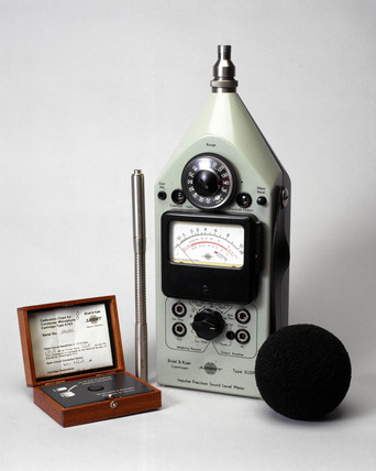 Precision sound level meter, 1960-1979.