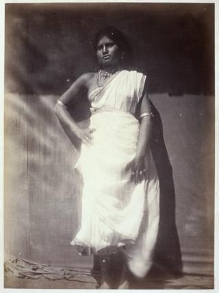 Ceylonese woman, c 1875-1878.