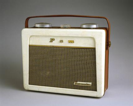 Pam 710 portable radio receiver, 1956.