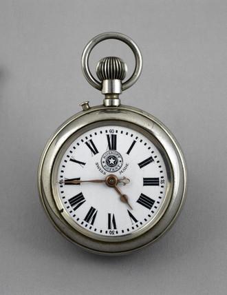 Roskopf Patent pocket watch, c 1887.