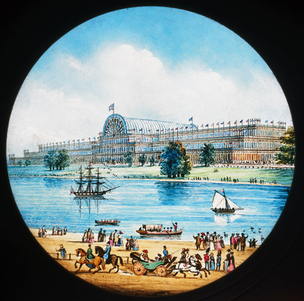 The Great Exhibition, Hyde Park, London, 1851.