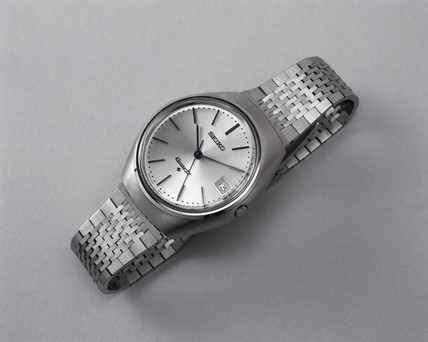 Early quartz watch, c 1969-70.