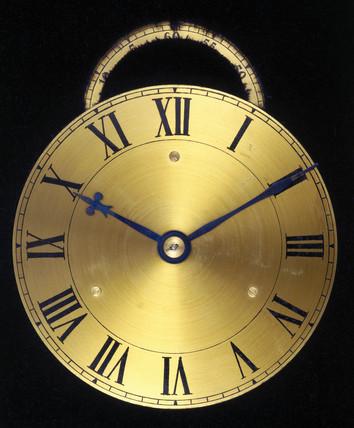 Huygens pendulum clock, 1673.