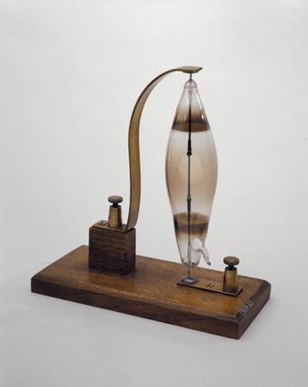 Swan's electric filament lamp, 1878-1879.