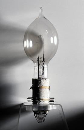 Swan's electric lamp, 1879.