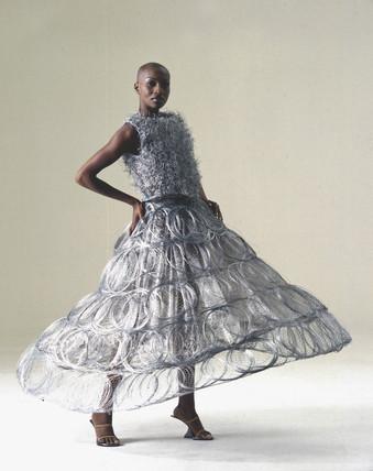 Steel wedding dres, 1995.