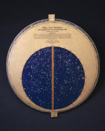 Philips' large revolving planisphere, 1850-1886.