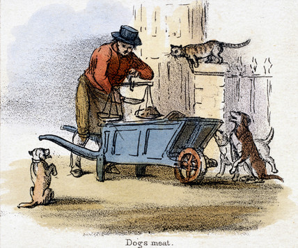 'Dogs Meat', c 1845.