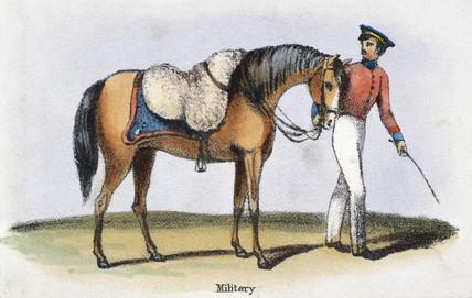 'Military', c 1845.