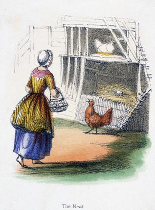 'The Nest', c 1845.