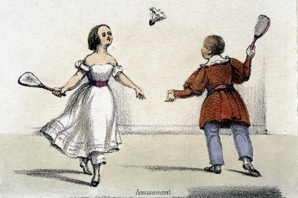 'Amusement', c 1845.