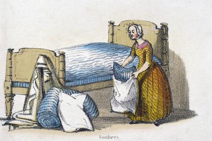 'Feathers', c 1845.