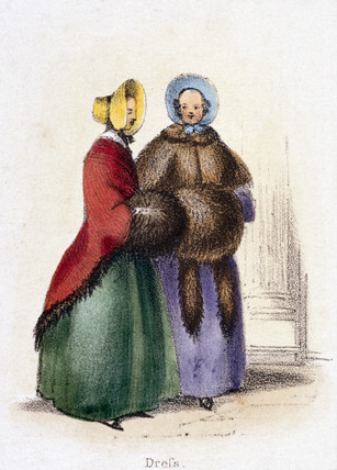 'Dres', c 1845.