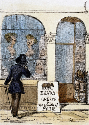 'Perfumer', c 1845.