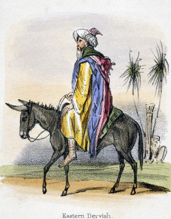 'Eastern Dervish', c 1845.
