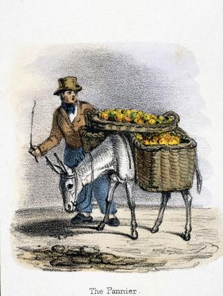 'The Pannier', c 1845.
