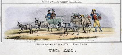 'The As', c 1845.
