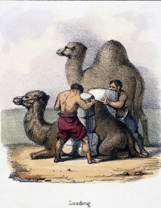 'Loading', c 1845.
