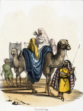 'Travelling', c 1845.