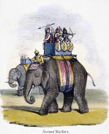 'Ancient Warfare', c 1845.