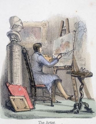 'The Artist', c 1845.