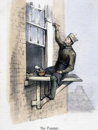 'The Painter', c 1845.