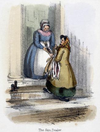 'The Skin Dealer', c 1845.