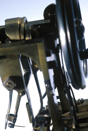 Original Howe sewing machine, c 1846.