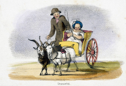 'Draught', c 1845.