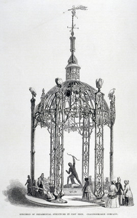 'Specimen of Ornamental Structure in Cast Iron', 1851.