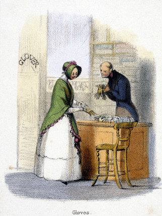 'Gloves', c 1845.