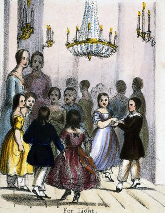 'For Light', c 1845.