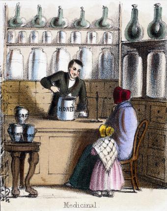 'Medicinal', c 1845.