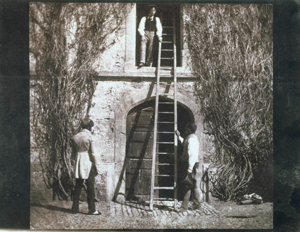 'The Ladder', c 1845.