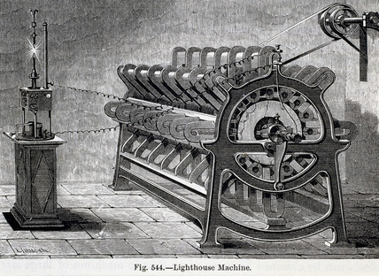 'Lighthouse Machine', 1885.