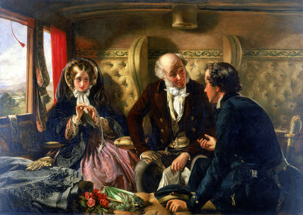 'First Class - The Meeting', 1855.