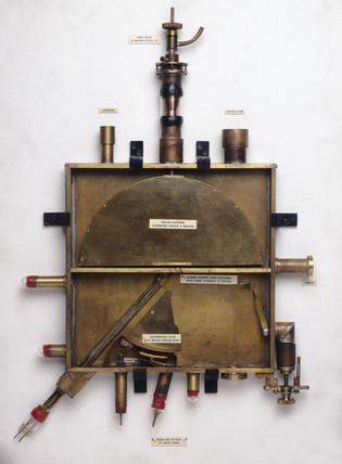 Cyclotron vacuum tank, c 1931.