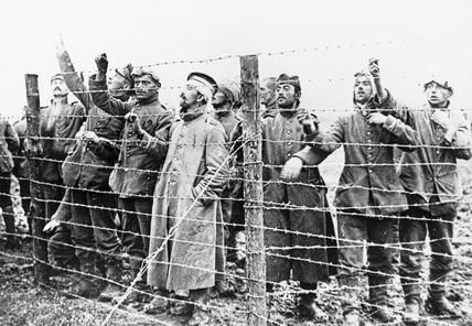 German prisoners of war (POWs).