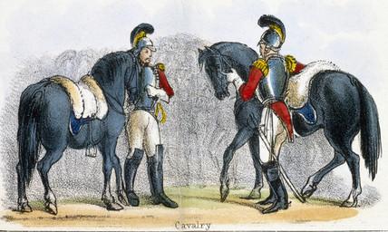 'Cavalry', c 1845.