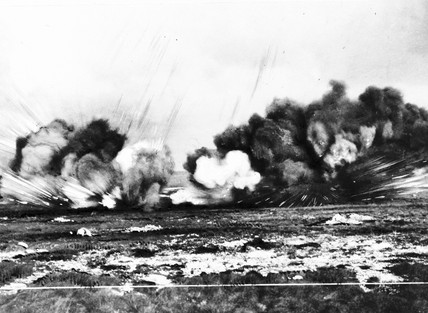 Explosion Western Front Wwi At Science And Society
