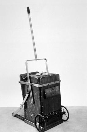 BVC hand-operated vacuum cleaner, c 1911.