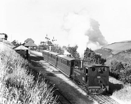 'Lew' Locomotive 2-6-2T No 188, 1935. The L