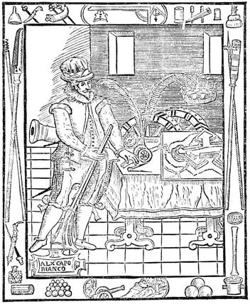 Alesandro Capo Bianco, Italian military engineer, 16th century.